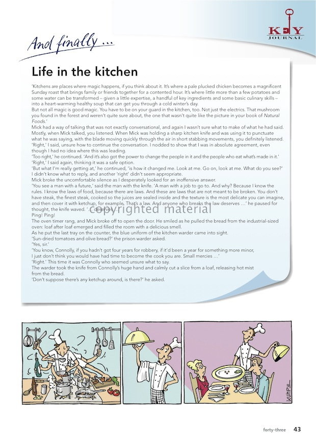 Life in the Kitchen