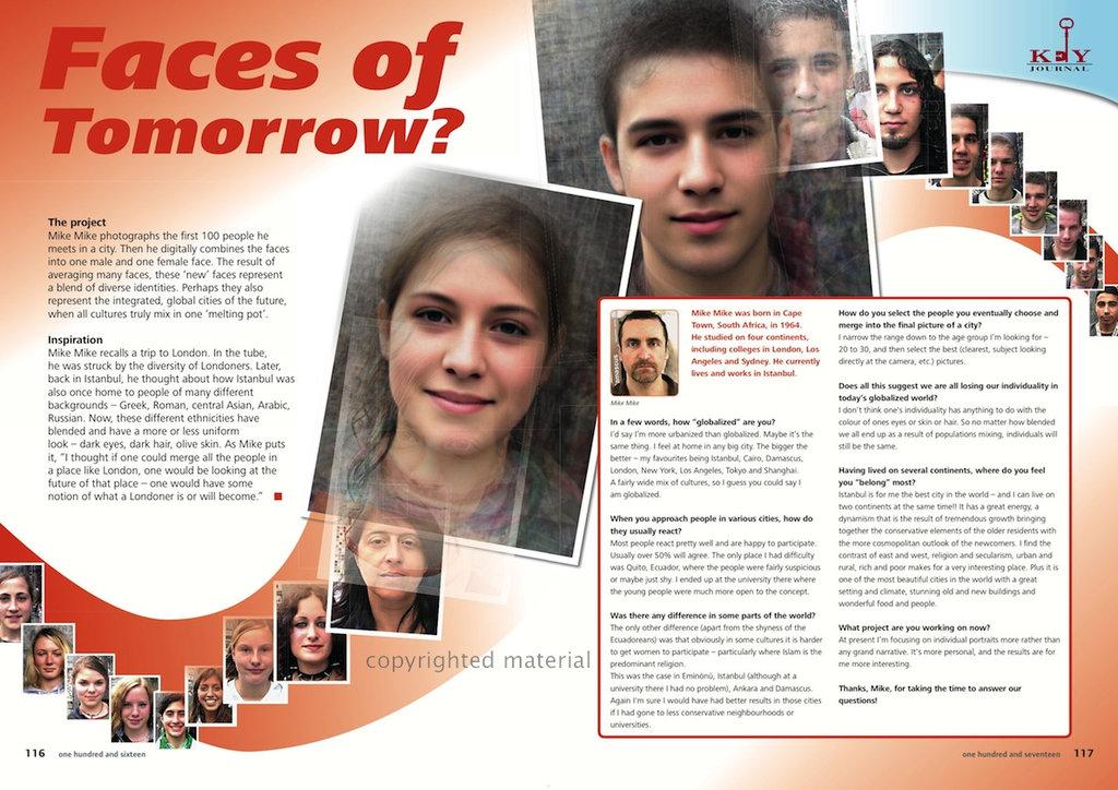 Faces of Tomorow